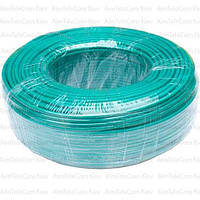 Провод гибкий марки ПВ-3 (H05V-K) Multicom, 1.5мм², Cu, зелёный, в коробке 100м