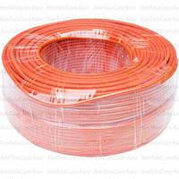 Провод гибкий марки ПВ-3 (H05V-K) Multicom, 1.5мм², Cu, оранжевый, в коробке 100м
