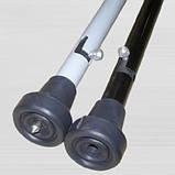 Трость стальная, регулируемая ТН-01-011 (со штырем для зимы), фото 2