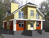Готовый проект жилого дома К2
