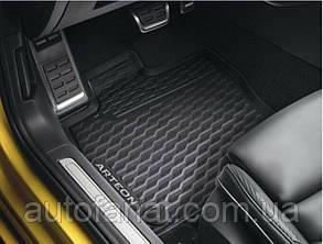 Оригинальный комплект резиновых ковриков в салон Volkswagen Arteon (3G806150082V)