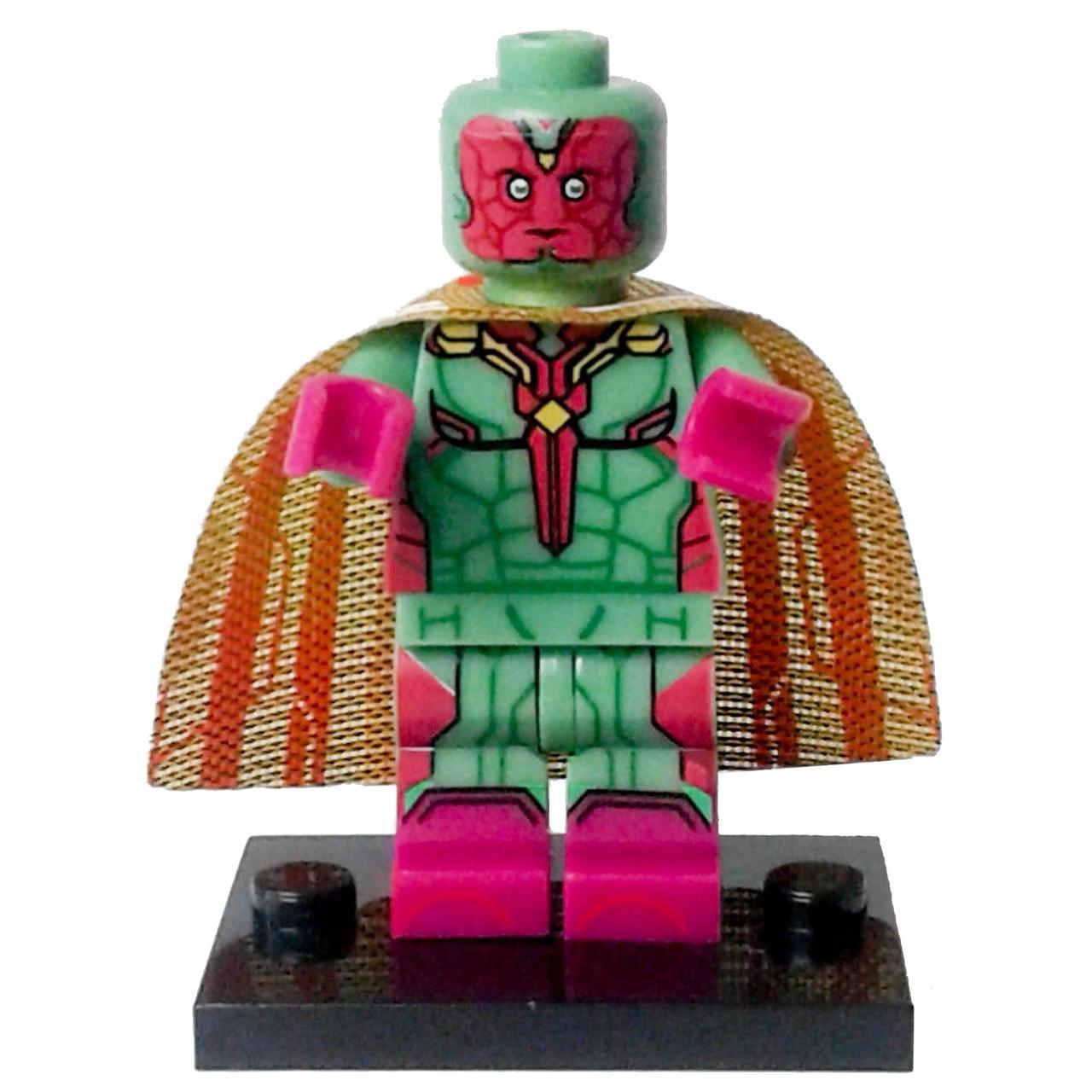 Вижен Супергерой Марвел Мстители Аналог лего