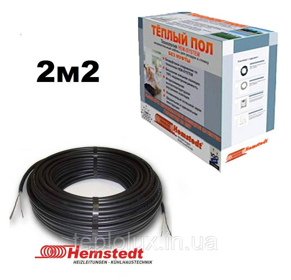 Одножильний кабель для підлоги BR-IM-Z 18,5 м-300W (1,7-2,1 м2)