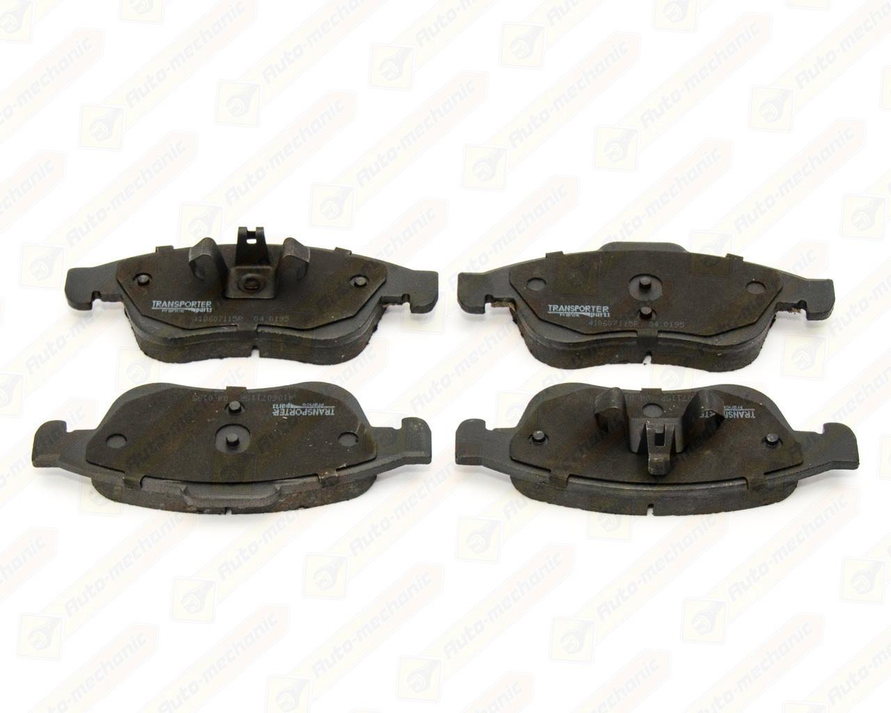 Дискові гальмівні колодки (передні) на Renault Logan II 2012-> — AutoTechteile - 5040195