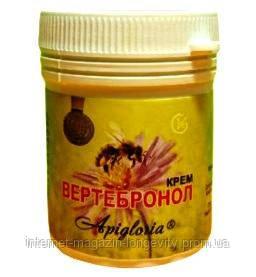 Вертебронол крем. Протизапальна, знеболююча, протимікробна, регенеруюча, бактерицидна дії.