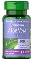 Алоэ Вера Puritan's Pride - Aloe Vera 5000 мг (100 капсул)