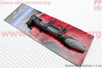 Насос MTB пластмассовый с Т-ручкой, черно-серый GP 96