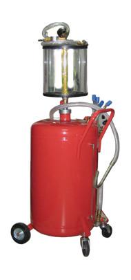Установка для вакуумной откачки масла с мерной колбой 80л.