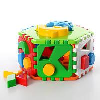 Развивающая игрушка для малышей Конструктор - Сортер «Умный малыш», Украина технок2445