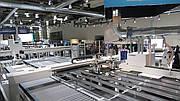 Кромкооблицовочная линия Homag на выставке Ligna 2019