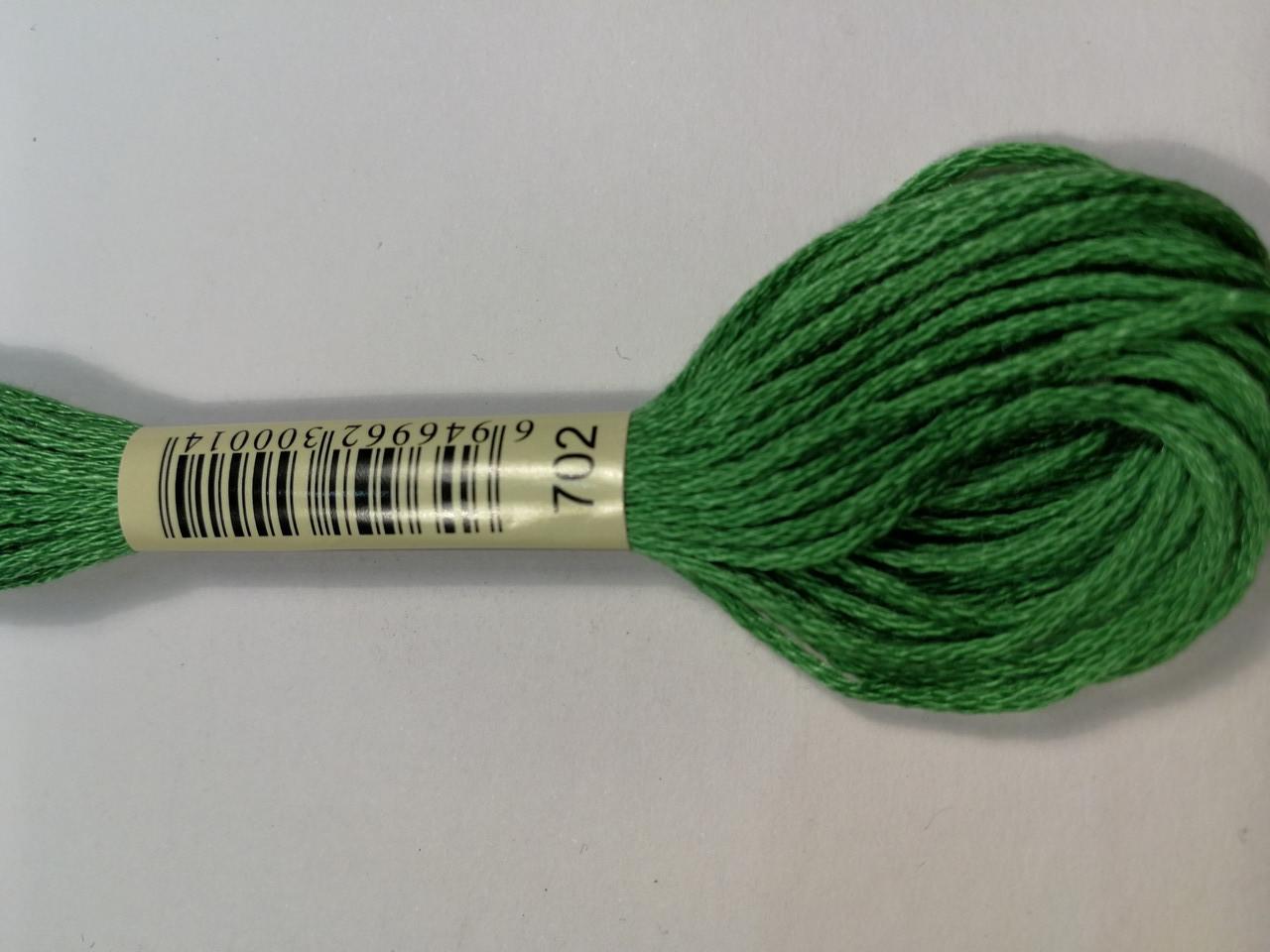 Мулине СХС 702 желто-зеленый