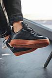 Чоловічі кросівки Nike Air Force Utility Black/Gum, фото 7