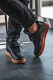 Чоловічі кросівки Nike Air Force Utility Black/Gum, фото 8