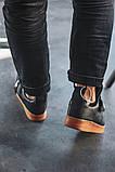 Чоловічі кросівки Nike Air Force Utility Black/Gum, фото 4