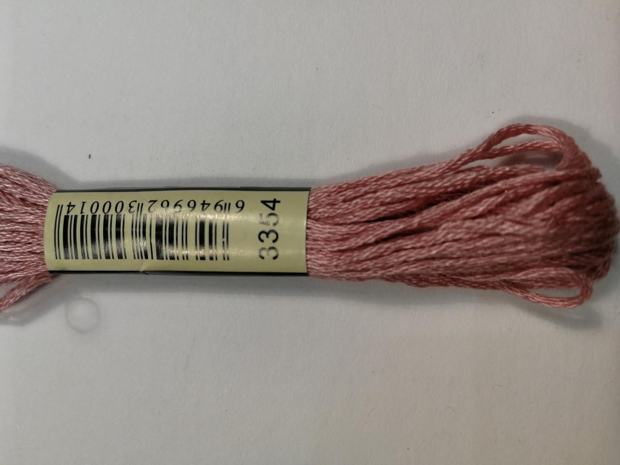 Мулине СХС 3354 пыльная роза светлый