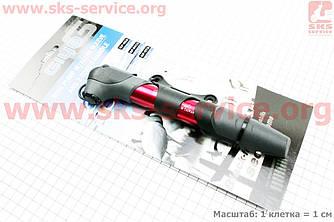 Насос MTB алюминиевый телескопический с Т-ручкой, GP 97A
