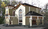 Готовый проект жилого дома К3