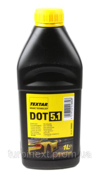 Жидкость тормозная DOT5.1 (1L) TEXTAR 95006600