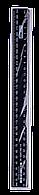 Линейка пластиковая JOBMAX 30см., черная