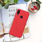 Силиконовый чехол Liquid Case Xiaomi Redmi Note 7 / Pro Red (Красный), фото 3