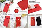 Силиконовый чехол Liquid Case Xiaomi Redmi Note 7 / Pro Red (Красный), фото 6