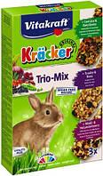 Крекер для кроликов Vitakraft с овощами, орехами и лесными ягодами