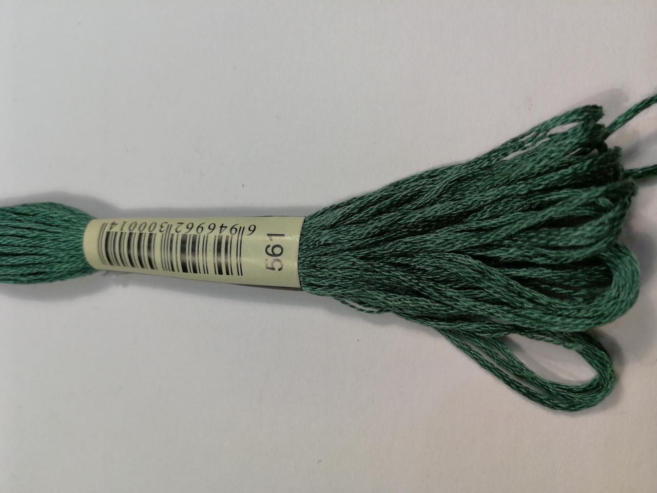 Мулине СХС 561 темно-нефритовый