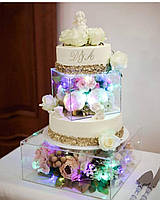 Прозрачная колона под торт, фото 1
