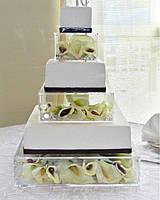 Прозрачная колона под торт