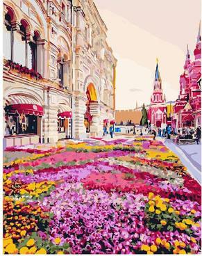 Картина по номерам Розовая клумба, фото 2