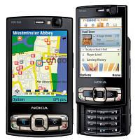 Корпус для Nokia N95 8GB с клавиатурой, оригинал, черный