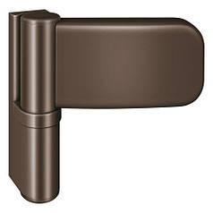 Дверна петля Simonswerk Siku 3D K 3035, 120 kg, 15-19 mm, коричневий (RAL 8022)