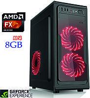 Игровой компьютер NG FX 4300 D3 / FX-4300 / DDR3-8Gb / HDD-1Tb / GeForce GT1030