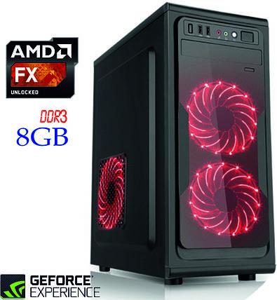 Игровой компьютер NG FX 4300 D3 / FX-4300 / DDR3-8Gb / HDD-1Tb / GeForce GT1030, фото 2