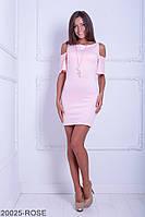 Яркое приталенное платье с вырезами на расклешенных рукавах Selina M, Rose