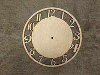 Заготовка под часы круг с цыферблатом