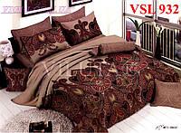 Постельное белье двухспальное, сатин люкс Вилюта (Viluta) VSL 932