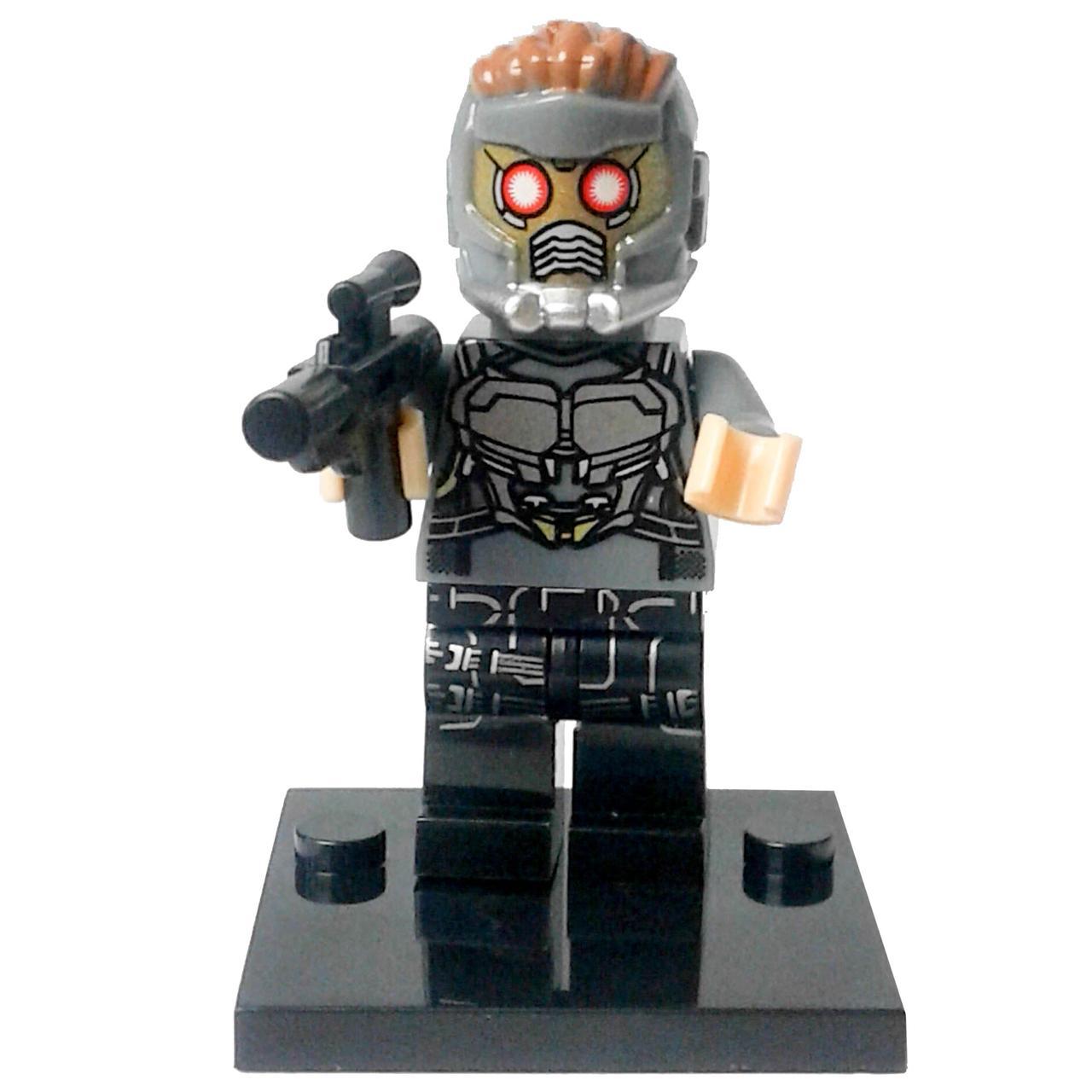 Звёздный лорд Супергерой Марвел Мстители Стражи галактики Аналог лего