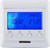 Menred E60 терморегулятор цифровой для теплого пола (2 датчика)