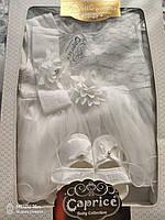 Набор для крещения девочки с красивым цветочком