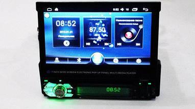 Автомагнитола 1DIN android DVD-9901 с выдвижным экраном и GPS навигатором, фото 2