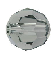 Кришталеві намистини Swarovski 5000 Black Diamond