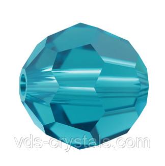 Бусины из натурального камня Swarovski 5000 Blue Zircon