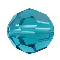 Намистини з натурального каменю Swarovski 5000 Blue Zircon