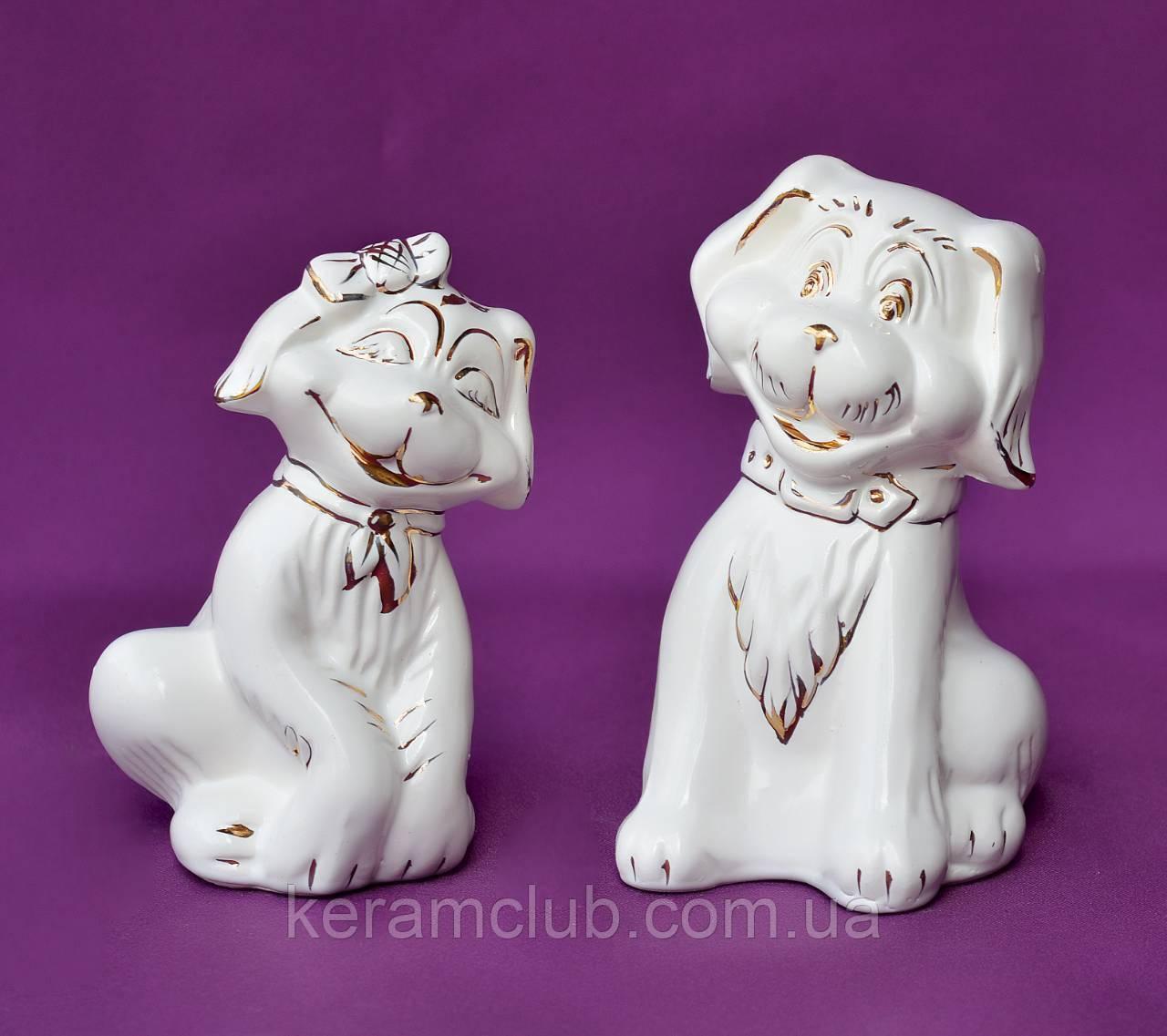 Сувенир Собака фарфор