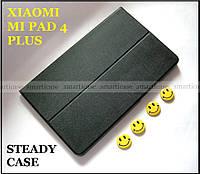 Черный чехол книжка для Xiaomi mi pad 4 plus (10.1), устойчивый Steady Case smart