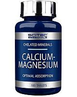 Scitec Nutrition SCITEC CALCIUM-MAGNESIUM 100 ТАБ