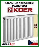 Радиатор стальной Koer 22k 500*800 боковое подключение