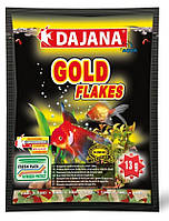 Корм для золотых рыбок Даяна голд (Dajana Gold), хлопья 13 гр