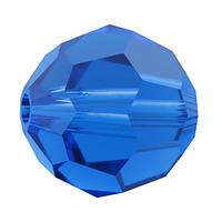 Намистини з натурального каменю Swarovski 5000 Capri Blue